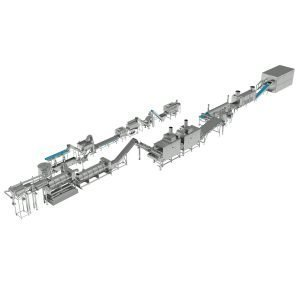 French Fries Potato Processing Line