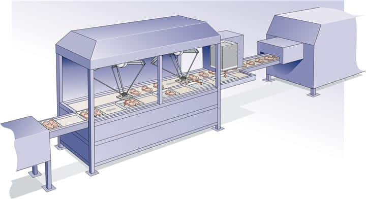 ProEx Food presentation robot