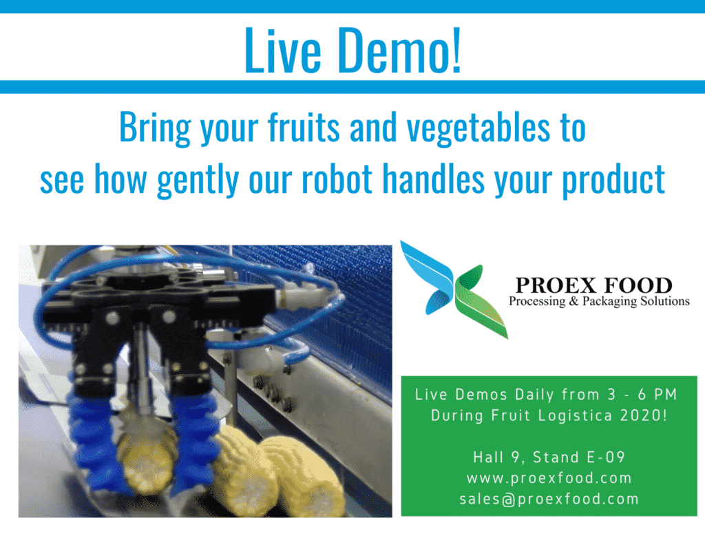 Live Demo during Fruit Logistica 2020 in Berlin!