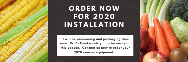 Order with ProEx Food Now for 2020 Intallation